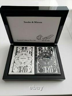Dan & Dave Smoke And Mirrors V1, Boîte Collector, Seulement 100 Faites Ultra Rare