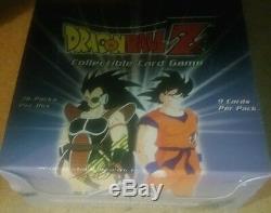 Dbz Dragonball Z Saiyan Saga Booster Illimité 36ct. Anglais Sealed Rare L @@ K