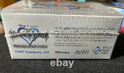 Disney Kingdom Hearts Com Tcg Base Set Booster Box Tomy New Factory Scellé Rare