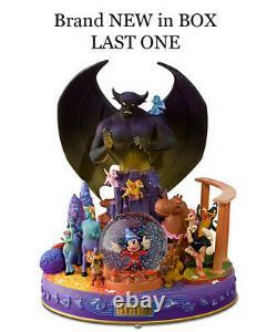 Disney Store Fantasia Mickey Mouse Snowglobe Nouveau Dans Box Rare Large