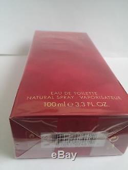 Dolce & Gabbana Red Box Femmes Edt 3.4 Oz 100 ML Formule Originale Nib Rare
