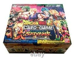 Dragon Ball Super Booster Box Assaut Des Saiyans Nouvelle Usine Scellée Rare