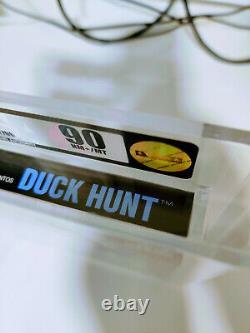 Duck Hunt Nes Pal Factory Nouvelle Boîte Courte Unopened Print Vga 90 Rare Mint Print