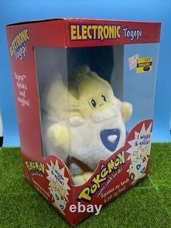 Électronique Parler Togepi En Peluche Nouveaut En Box Rares Animaux Farcis De Pokémon 1998