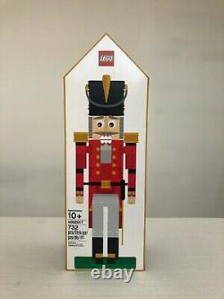 Ensemble De Casse-noisette Lego Scellé 4002017 Rare Exclusive Employee Gift