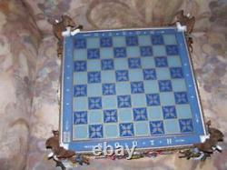 Franklin Mint-heroes Of The North/south CIVIL War Chess Set-new In Box-rare/oop