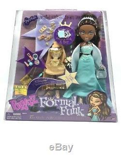 Funk Sasha Bratz Formelle Neuf Dans La Boîte Rare Toy Doll Smg Htf