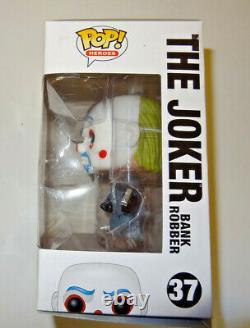Funko Dark Knight Trilogy Le Joker Bank Robber Figure #37 Nouvelle Boîte Endommagée Rare