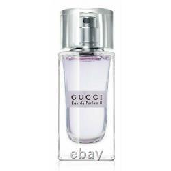 Gucci II Eau De Parfum 1oz/30ml Edp Pour Femmes En Boîte Scellée Rare Discontinu