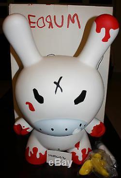 Kidrobot 20 Dunny Frank Kozik Redrum Huck Gee Marque Nouveau Dans La Boîte Rare 8 3