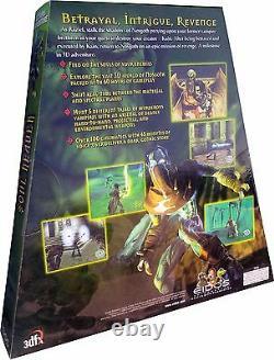 Legacy Of Kain Soul Reaver Pc Vintage 1999 Rare Triangle Box Nouveau! Misb