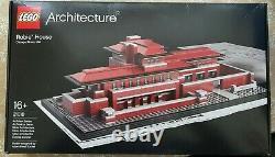 Lego 21010 Architecture Robie House Frank Lloyd Wright Rare Boxed Scellé