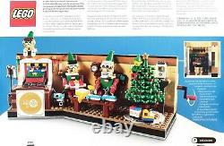 Lego 4002020 Année 2020 Cadeau De Noël Employé Avec Carte, Super Rare Nouveau