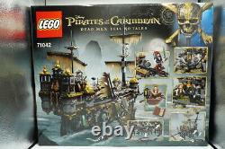 Lego Scellé Pirates Des Caraïbes Silent Mary 71042 2294 Pcs Retraité Rare