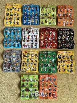Lego Series Bundle Collectables Minifigures 1-15 + Personnalisé Présentoir Très Rare