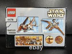 Lego Star Wars 4478 Géonosienne Fighter Nouvelles Dans La Boîte Scellée Rare Set 2003