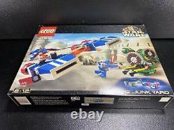 Lego Star Wars 7186 Wattos Junkyard Rare 2001 Set Nouveau Dans Sealed Box