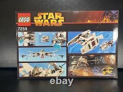 Lego Star Wars 7259 Arc-170 Starfighter Rare 2005 Set Nouveau Dans La Boîte Scellée