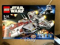 Lego Star Wars 7964 Frégate République Rare Aucune Minifigure