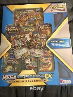 Mega M M Metagross Ex Premium Pokemon Collection Box Flashfire Rare Scellé