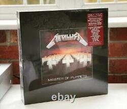 Metallica Master Of Puppets Rare Deluxe Box Non Ouvert Menthe & Très Rare