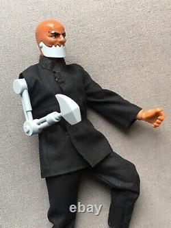 Mib Rare Mattel Big Jim Spy Iron Jaw Custom Dentos Trap Jaw James Bond 007 Boîte