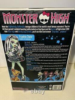 Monster High Frankie Stein Nouveau Dans Box-first Wave 2009-rare