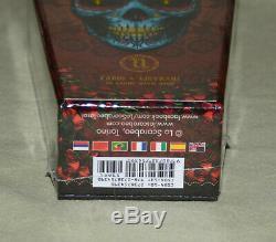 Neufs & Scelles De Santa Muerte Limited Edition Cercueil Boîte Rare Carte Tarot