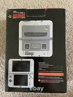 New' Nintendo 3ds XL Snes Super Nintendo Edition Boxed Complet Snes Rare