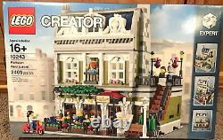 Nib Sealed Lego Creator 10243 Restaurant Parisien Modulaire