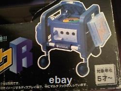 Nintendo Gamecube Cube Rack Boxed Import Storage Accessoire Avec Roues Rare