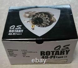 Nitro Engine O. S. Rotary 49 Pi Rc Avion De Type II Withbox Du Japon Très Rare