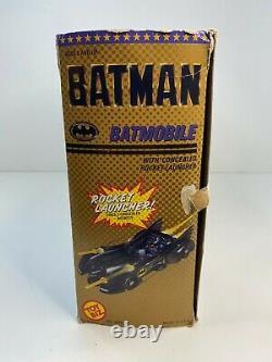 Nouveau 1989 Jouet Biz Batman Rocket Launcher Batmobile Vintage Rare Nouveau En Boîte