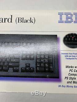 Nouveau 1997 Noir IBM Modèle M13 Clavier Trackpoint 13h6705 Boîte Scellée Rare