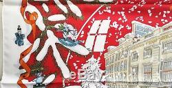 Nouveau Plus Rare De Couleur + Xmas Box Hermes Noël Au 24 Faubourg Soie Dimitri Neige