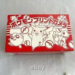 Nouveau Rare Pokémon Print Film Camera Pikachu Shogakukan Japon Modèle Pokemon Box