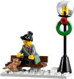 Nouveau Scellé Lego Creator Winter Market Village Expert 10235 Set Rare À La Retraite