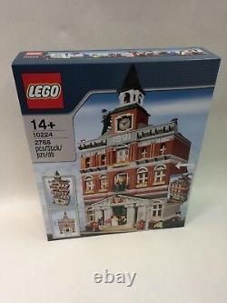 Nouveau Sealed Lego 10224 Town Hall Rare Discontinued Retraited Ensemble Collectable