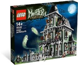 Nouveau Sealed Lego Monster Fighters Haunted House 10228 Rare & Discontinued
