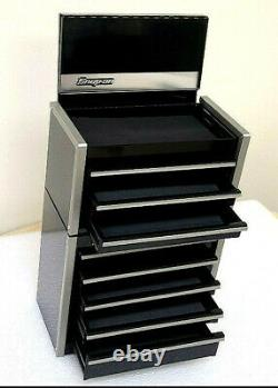 Nouvelle Boîte À Outils Snap-on Black Micro Rare Top & Bottom Set Mini Series
