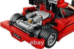 Nouvelle Menthe Scellée Lego Créateur Ferrari F40 10248 Rare Ensemble Discontinu À La Retraite
