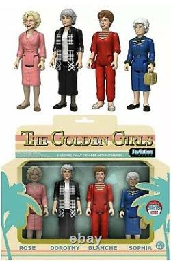Nycc 2016 Funko Action The Golden Girls 4 Pack Rose Dorothy Blanche Pop Rare