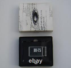 Oakley Money Clip Bnwt Boxed Très Rare Crest Keychain Bob Skull Juliette Keyring L