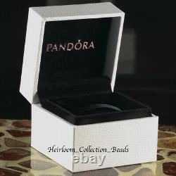 Pandora 14k Gold Circles Earrings 25243/250243 Retiré Et Super Rare! Ensemble 2006