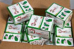 Panini Em Euro 2008 Ce 12 X Display Box Grün Vert Brillant Glitzer Version Rare