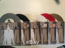 Pearl Jam Boîte Ten Set Sampler Promotionnel 7 45 Limité Rare! Vinyle Coloré