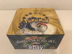 Pokémon 1999 Set De Base Booster Box- Factory Blue Wing Charizard Étanche Et Boîte Rare