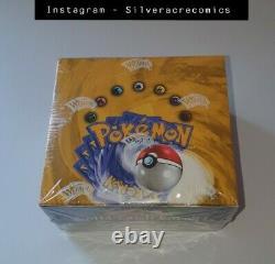 Pokemon Base Set 4ème Print Uk Edition Booster Box Sealed Super Rare Pokèmon (sa)