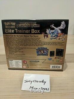 Pokemon Black & White Plasma Storm Elite Trainer Box Factory Scellé Très Rare