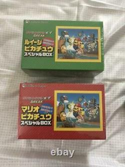 Pokemon Card Mario Pikachu Luigi Pikachu Coffret Spécial Kyoto Open Memorial
